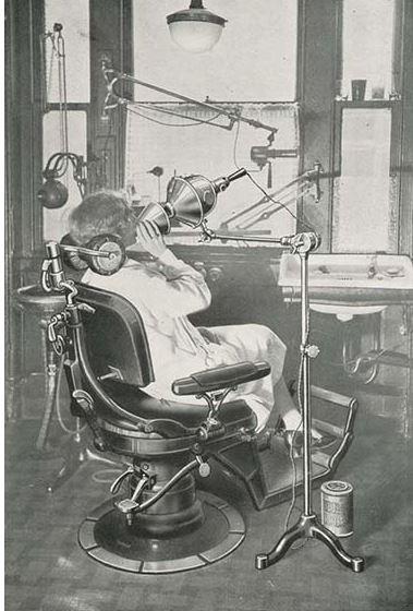 Kwikku, Ini adalah alat terapi xray untuk gigi yang sangat terkenal di zamannya