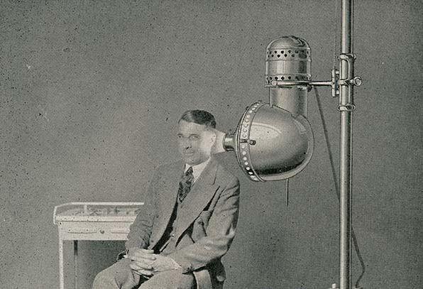 Kwikku, Inilah tampilan alat terapi xray untuk telinga modelnya nampak canggih banget