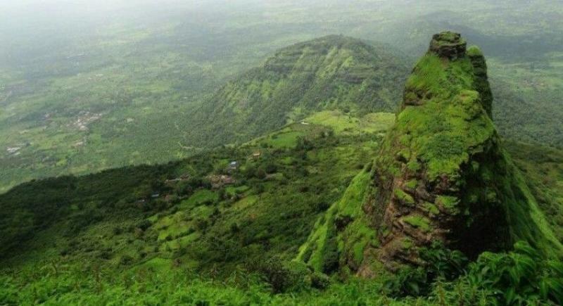 Kwikku, Kalavantin Pinnacle Maharashtra India