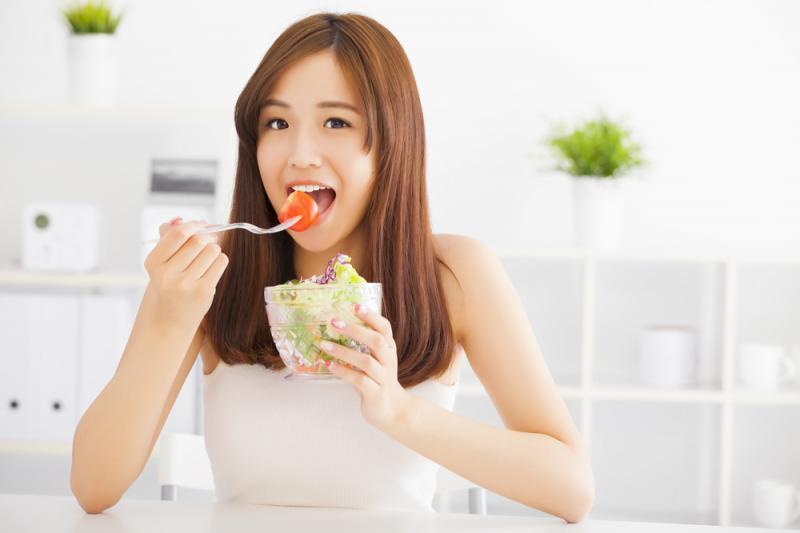 Kwikku, Makan Buah dan Sayuran