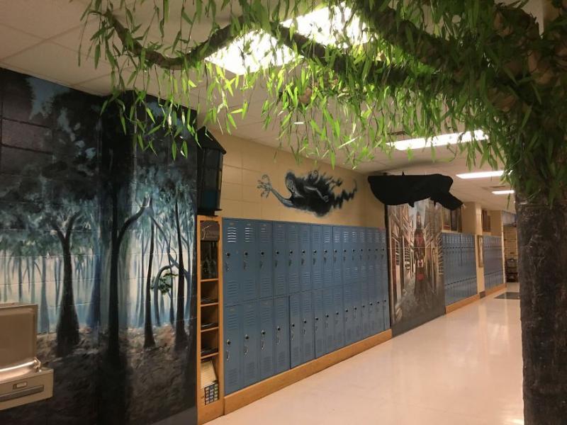 Kwikku, Kok rasanya seperti merinding yah melihat penampakan hutan terlarang di sekolah ini
