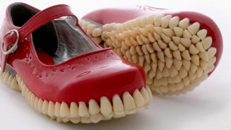 Kwikku, Apa jadinya kalo sepatu punya gigi Mungkin ini yang akan terjadi nih