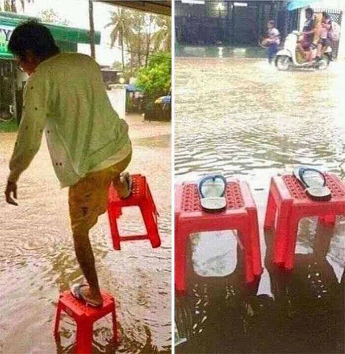 Kwikku, Untuk penutup sendal yang seperti ini kayaknya cocok banget buat di gunakan di Indonesia yang sering kebanjiran nih guys