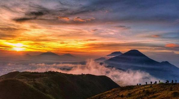 Kwikku, Gunung Prau