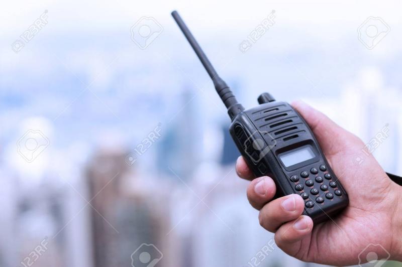 Kwikku, Walkie talkie Radio
