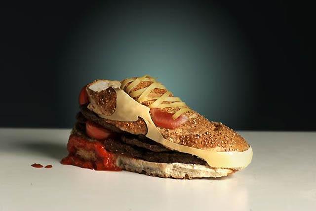 Kwikku, Burger sepatu