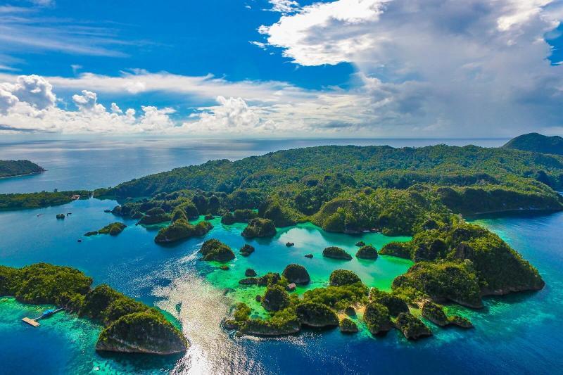 Kwikku, Pulau terbanyak
