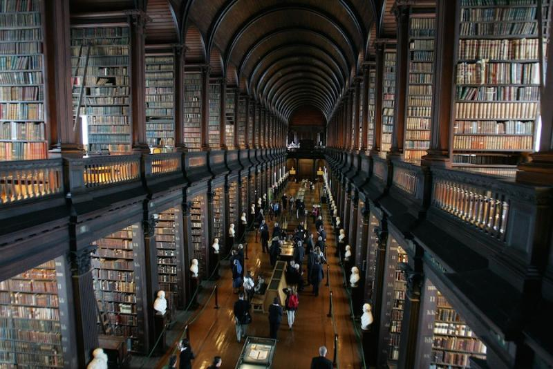 Kwikku, The Old Library at Trinity College