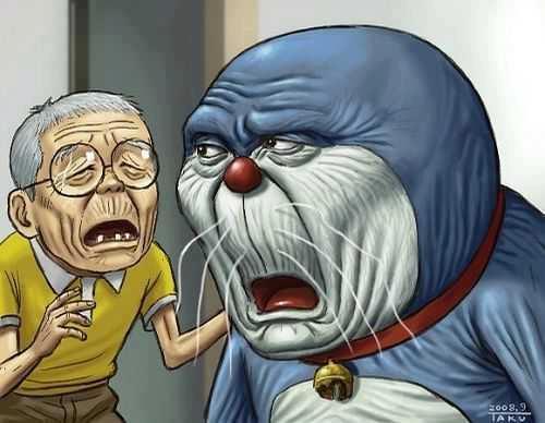 Kwikku, Doraemon dan Nobita
