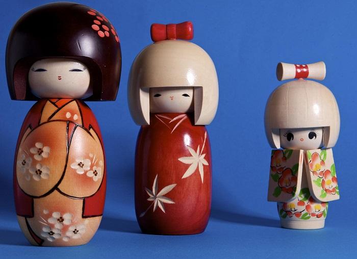 Kwikku, Boneke Kokeshi Jepang
