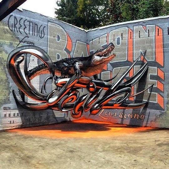 Kwikku, Grafity buaya D
