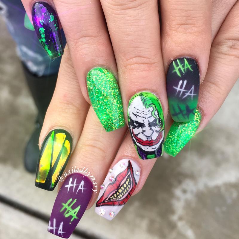 Kwikku, Joker nail art