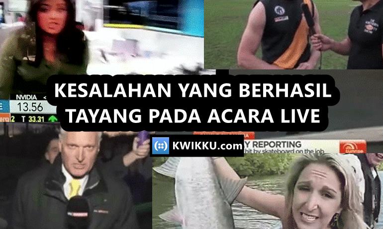 Kesalahan Pada Acara TV yang Lolos ke Mata Publik dari Dildo sampai Spiderman