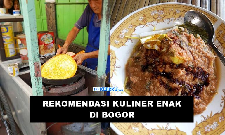 Kuliner Enak dan Murah di Bogor yang Wajib Dicoba