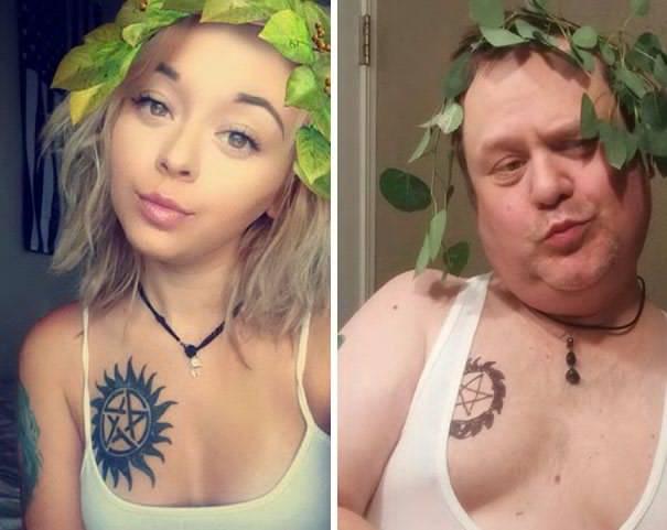 Begitu Menyayangi Putrinya Papa Jaman Now Meniru Setiap Adegan Selfie Yang Dilakukan Anaknya Ini Dia Hasil Kocaknya