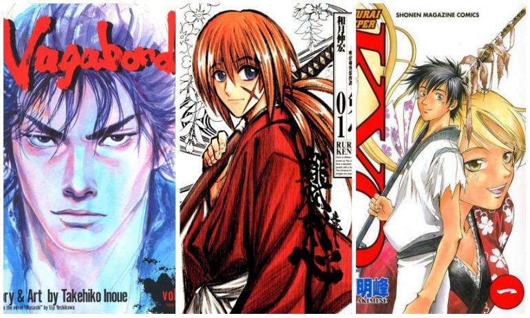 5 Manga Bertema Samurai yang Wajib Kwikkers Baca