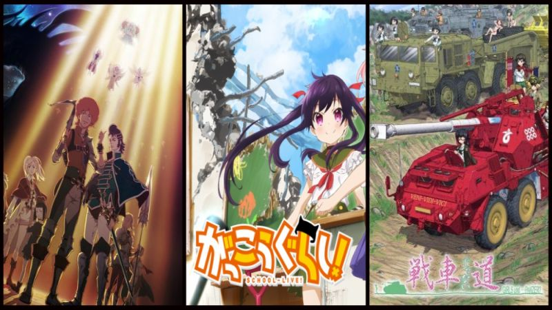 Diduga Gagal  6 Anime Ini Malah Sukses Besar
