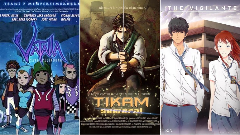 Nggak Cuma Jepang Indonesia Juga Bisa Bikin Anime Mantap