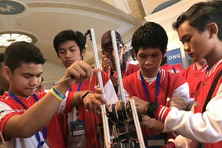 Mengagumkan Indonesia Bisa Mewakili Kontes Robot Terbesar Di Dunia Berkat Siswa Madrasah Asal Depok