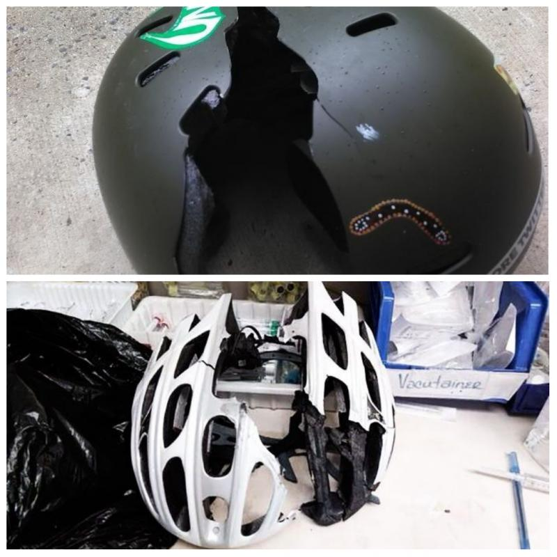 10 Foto Ini Peringatkanmu Pentingnya Pakai Helm