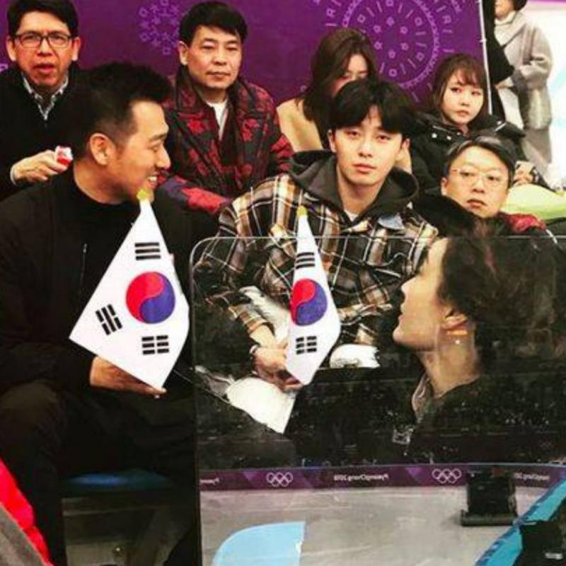Beri Dukungan Langsung Ini 10 Seleb Korea yang Nonton Olimpiade Pyeongchang 2018