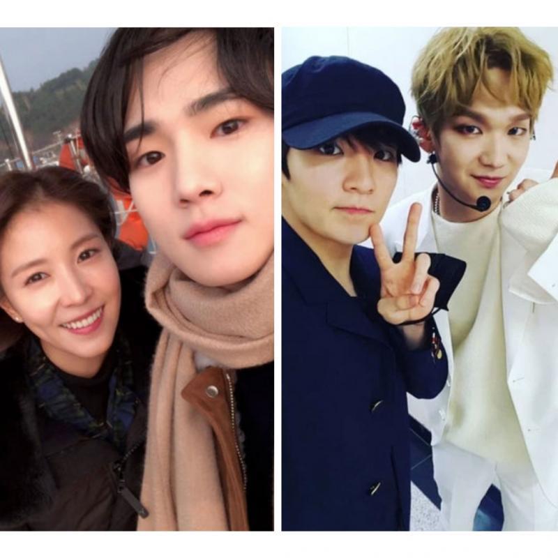 Nervous - Mati Gaya Begini Tingkah 7 Idol K-Pop Saat Bertemu Idolanya