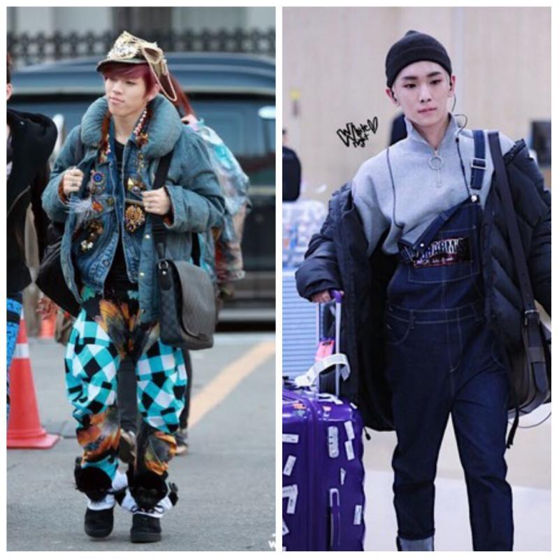 Demi Tampil Nyentrik Ini 7 Artis Korea dengan Airport Fashion Ribetnya