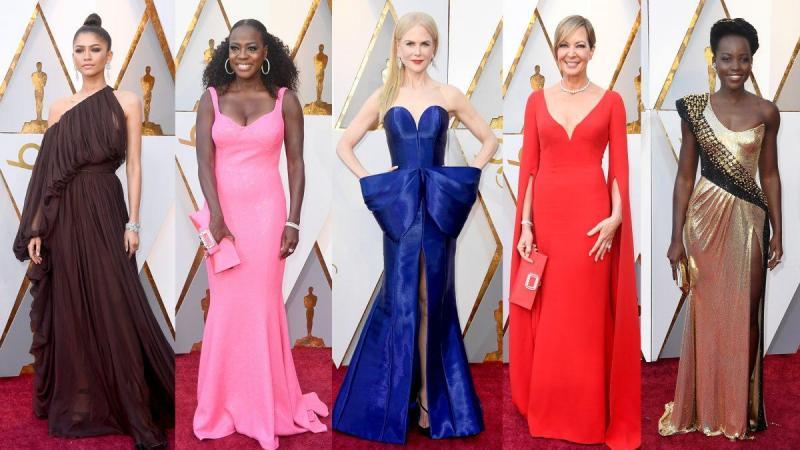 Sukses Digelar Begini Wajah Para Aktor dan Aktris Dunia Saat Tertangkap Kamera di Red Carpet Oscar 2018