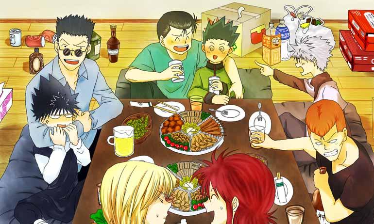 Dua Anime Karya Yoshihiro Togashi Ini Memiliki Komposisi Karakter yang Mirip Lho
