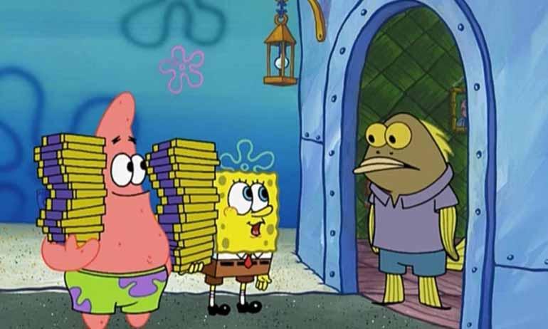TOP 10 Karakter Figuran di Spongebob yang Sering Muncul Part 1