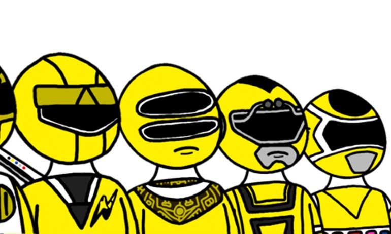 Suka Ranger Kuning Inilah Super Sentai Yellow Paling Cantik nan Menarik