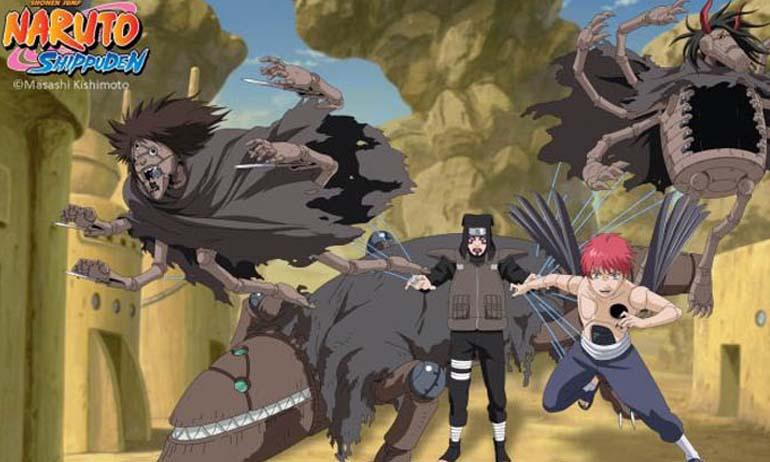 Inilah Daftar 10 Kugutsu Paling Keren dan Hebat di Naruto