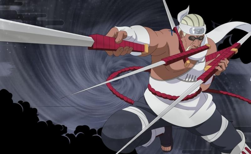 Bukan Cuma Kirigakure yang Punya Ninja Jago Pedang Kumogakure pun Punya 5 yang Terbaik