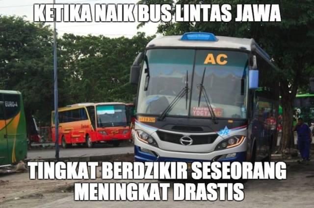 7 Meme Paling Kocak Tentang Pengendara Bus Antar Provinsi No 6 Paling Ngakak