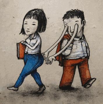 Berikut Ini Adalah Beberapa Ilustrasi Lucu yang Menggambarkan Pola Kehidupan Manusia Masa Kini