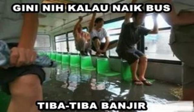 Derita Langganan Tiap Tahun Berikut 10 Meme quotBanjir Sudah Biasaquot Paling Gokil bin Ngakak