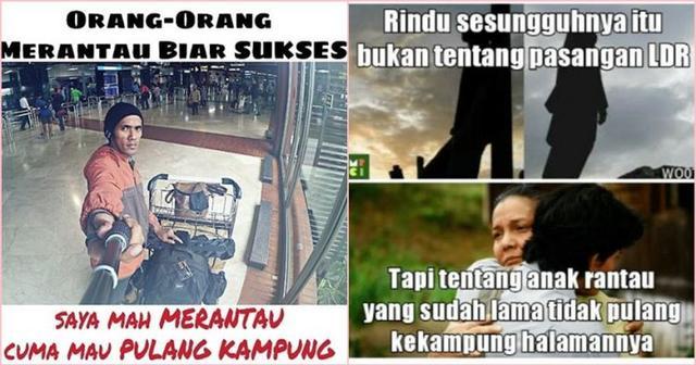 10 Meme quotMerantauquot Ini Pasti Akan Ceriakan Kembali Harimu yang Sedang Rindu Kampung Halaman