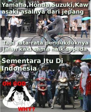 Meme lucu Indonesia vs Luar Negeri bikin geleng-geleng kepala