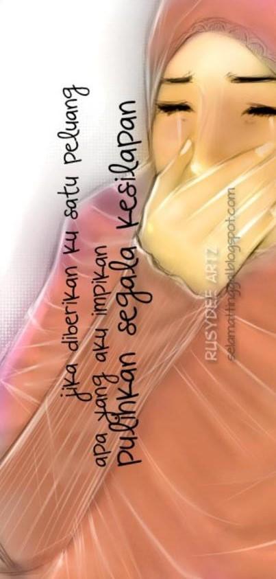 Jika kata berniat untuk berubah menjadi lebih baik karena Allah maka Allah akan mengirim orang-orang yang baik untuk bersama-sama kita